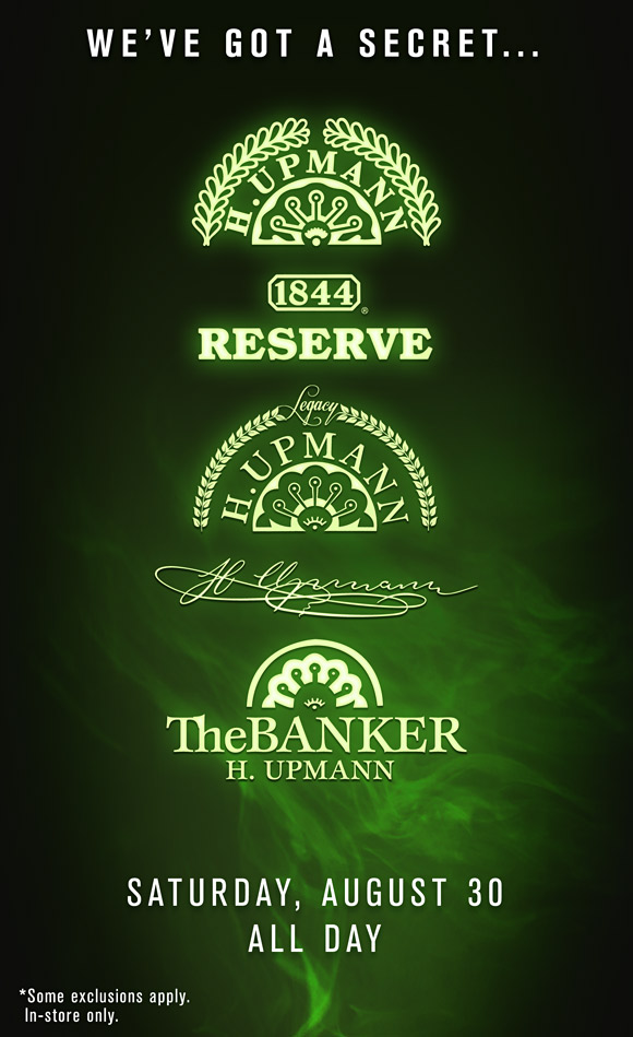 H.Upmann Secret Sale